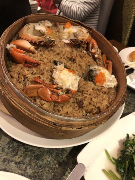 台北 台菜 紅蟳米糕