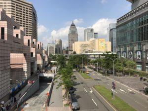 台北101の周辺