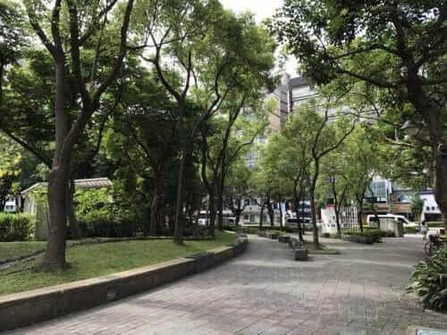 中山エリア 林森公園