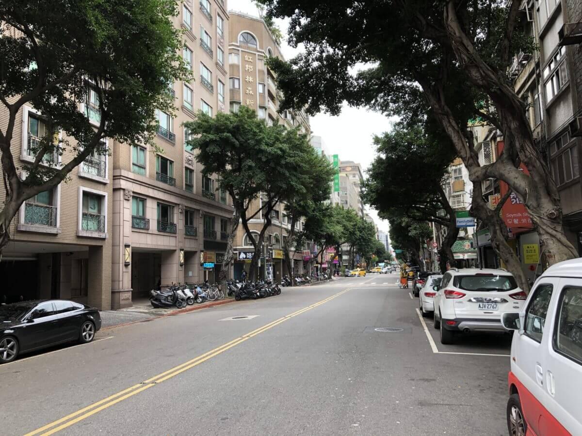 リビエラ ホテル 台北 – 林森北路と民族東路の交差点にある欧州風のホテル