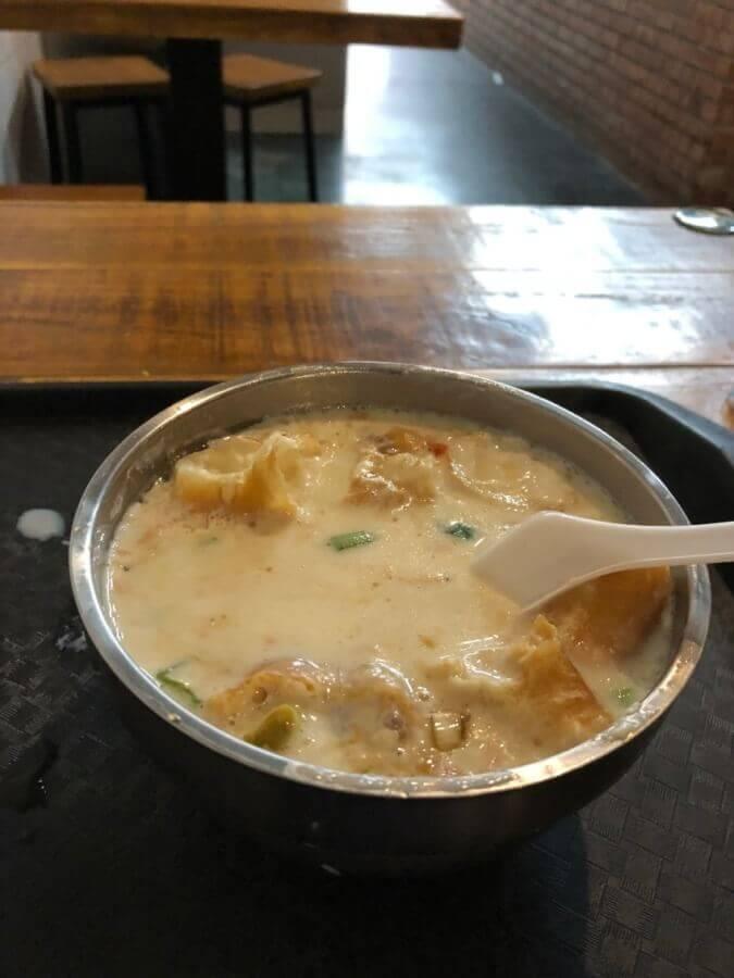 四海豆漿 鹹豆漿