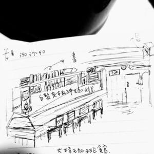 那年,南青山,大坊珈琲店