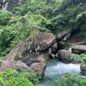 青蛙石 | 新竹景點推薦~天空步道,不用爬山就能賞瀑布!