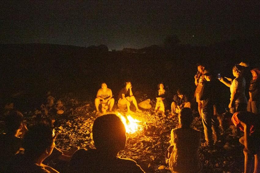 台東 都蘭 / 夜晚營火