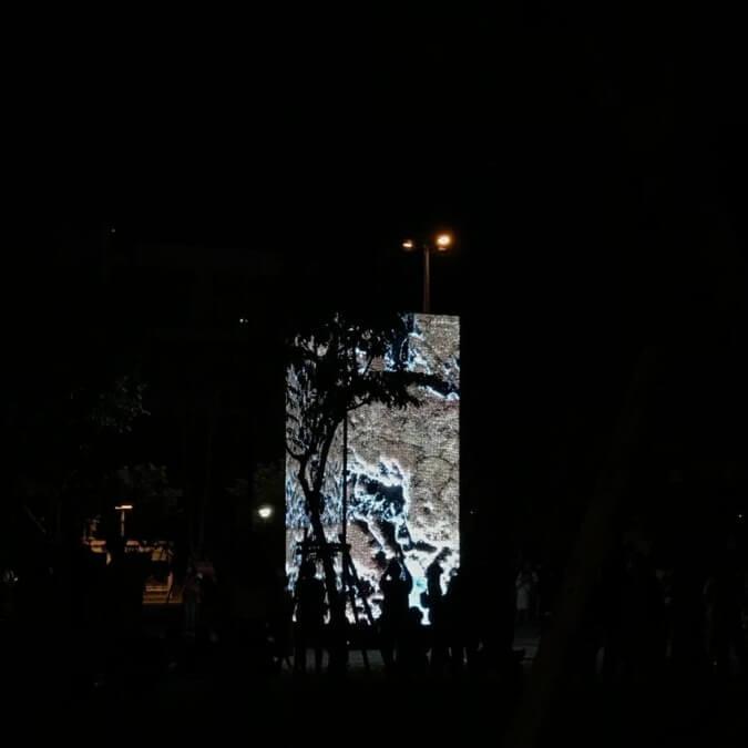 デジタル巨石モニュメント / DataMonolith / OUCHHH / Turkey / 白の夜 2020
