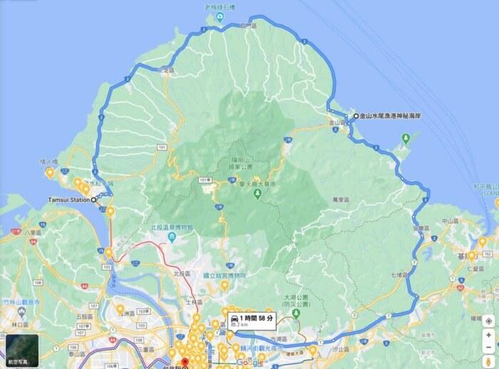 周遊 台灣北部 景點