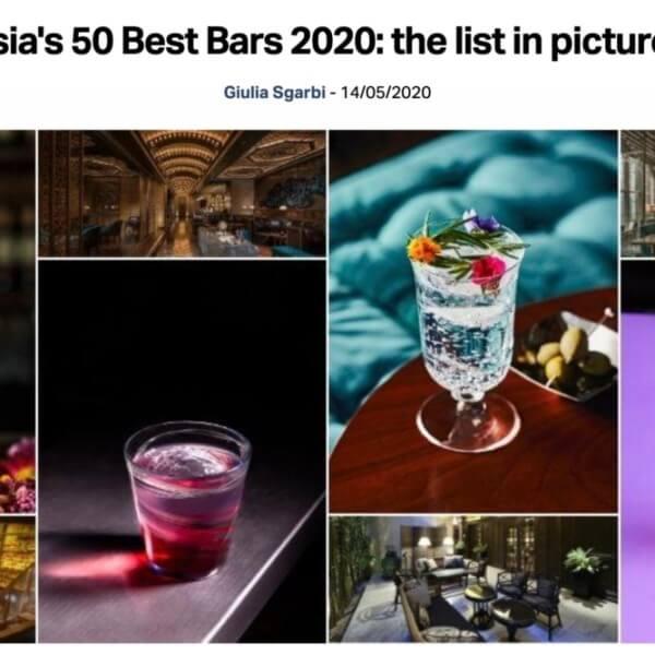 Asia's 50 Best Bars 2020