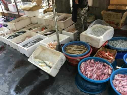 台湾の市場