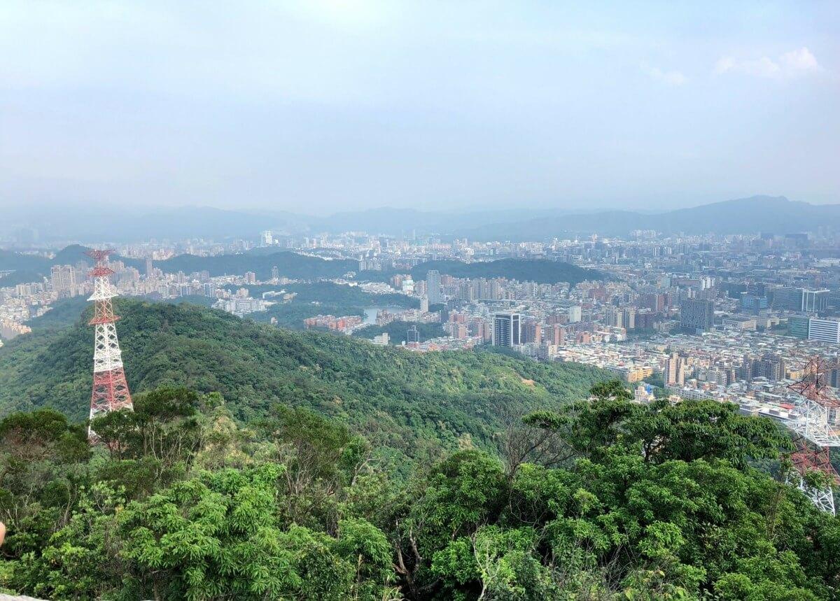 都市の片隅で山を登ろう!「台北内湖金面山步道」