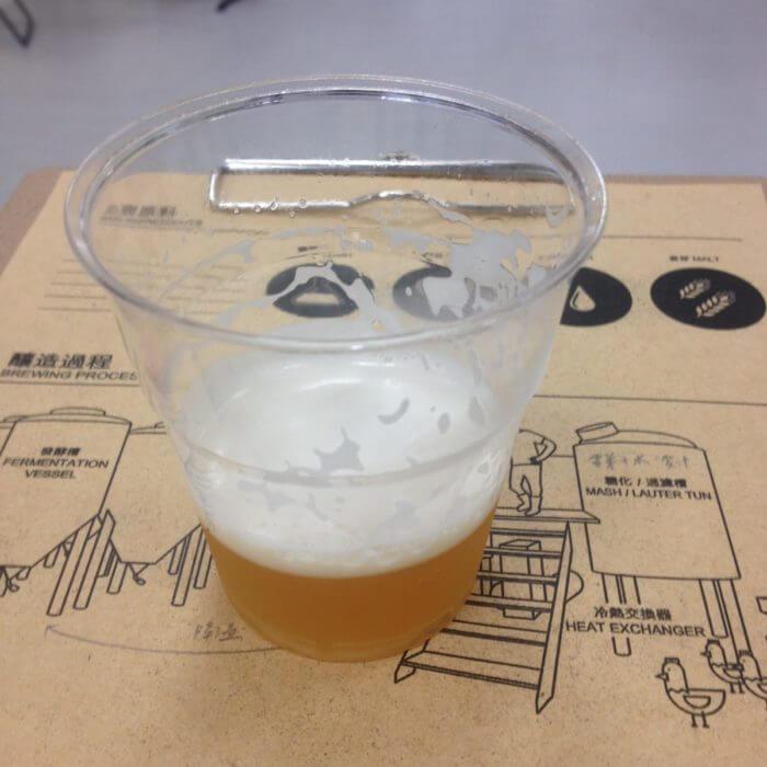 台虎精釀啤酒麥汁試飲