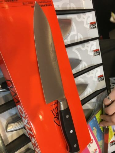 金門の金合利鋼刀